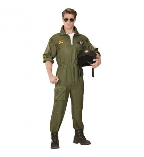 Gevechtspiloot Cruising Altitude Man Kostuum