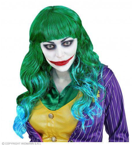 Groene Algen Pruik Zeemeermin Joker