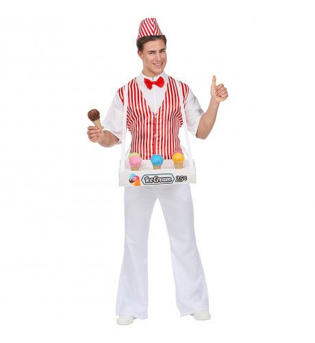 IJsco Man Italiaans IJs Kostuum