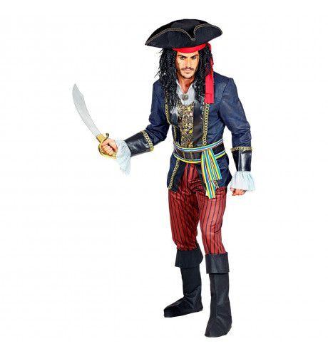 Filibuster Piraat Grote Oceaan Man Kostuum
