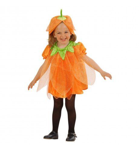 Pompoen Met Steel Halloween Meisje Kostuum