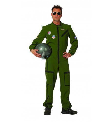 Stunt Piloot Straaljager Man Kostuum