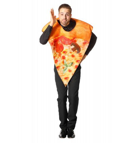 Vegetarische Pizza Punt Kostuum