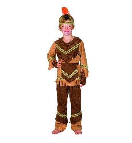 Heldhaftige Havik Indiaan Nebraska Kind Kostuum