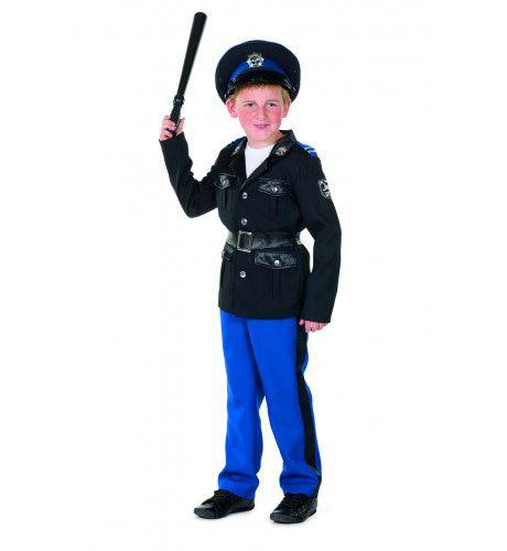Politie Agent Bekeuring Bram Jongen Kostuum