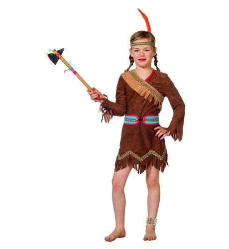 Pow Wow Wow Pocumtuk Indiaan Meisje Kostuum