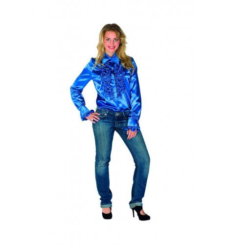 Boogie Woogie Disco Ruches Blouse Vrouw