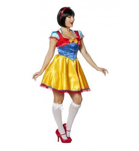 Sprookjesprinses Sneeuwwitje Vrouw Kostuum
