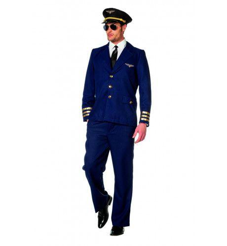 Koele Showbal Piloot Burgerluchtvaart Man Kostuum