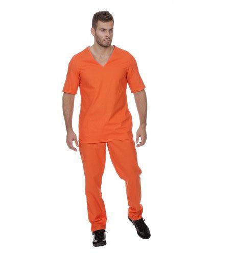 Guantanamo Bay Gevangene Man Kostuum