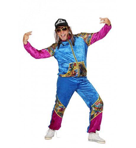 Mega Vet Trainingspak Bling Man Kostuum