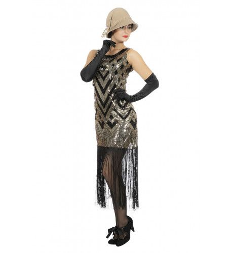 Chique Peaky Grace Roaring 20s Vrouw Kostuum