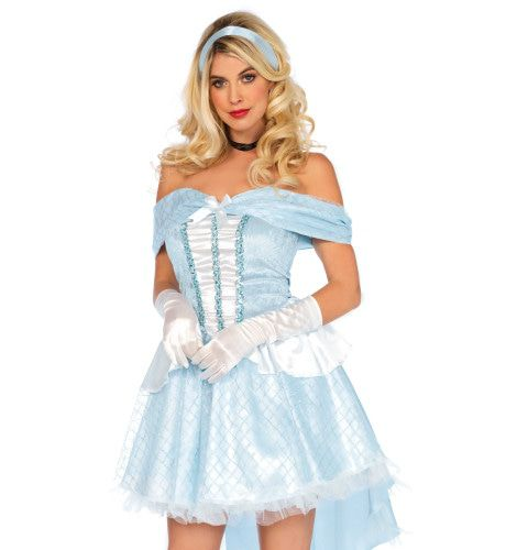 Glazen Muiltjes Diva Assepoester Vrouw Kostuum
