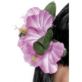 Hawaiaanse Bloemenclip Roze