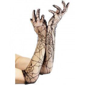 Geregen Spiderprint Handschoenen 50 Centimeter