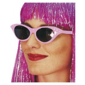 Rock N Roll Jaren 50 Zonnebril Met Juweeltjes Vrouw