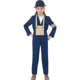 Horrible Histories Engelse Vlieger Kostuum Kind