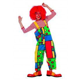 Latzhose Mondriaan Articlown Kind Kostuum