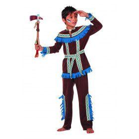 Blauwe Kraai Indiaan Tenderfoot (Jongen) Kostuum