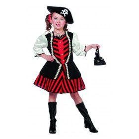 Piratenmeisje Dukaten-Digger Kostuum