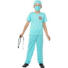 Junior Chirurg Kostuum Kind