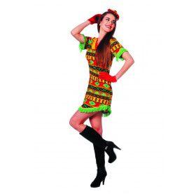 Mexicaanse Bandita Senora Ranchera Vrouw Kostuum