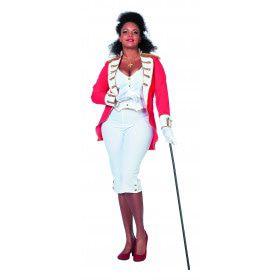Koninklijke Vrouwelijke Garde Plus Size Kostuum