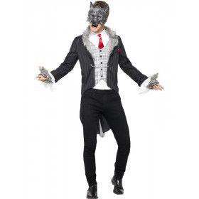 Luxe Grote Boze Wolf Man Kostuum