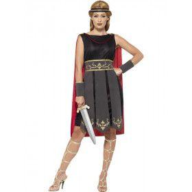 Romeinse Gladiator Emma Vrouw Kostuum