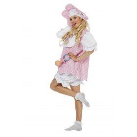Ondeugende Baby Girl Vrouw Kostuum