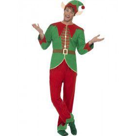 Kerstelf Man Kostuum