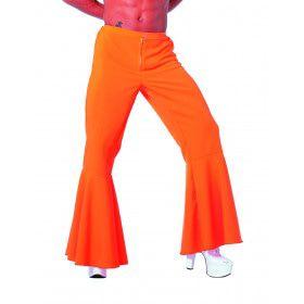 Oranje Hippie Broek Bi-Stretch