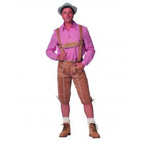 Derk De Perk Tirolerhose De Luxe Man Kostuum
