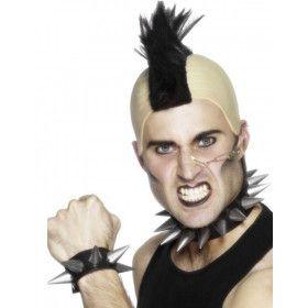 Punk Halsketting En Armband Volwassen