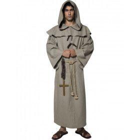 Friar Tuck Monnik Man Kostuum
