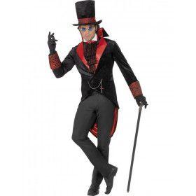 Dracula Halloween Man Kostuum