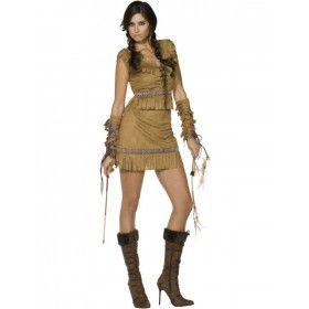 Fever Pocahontas Vrouw Kostuum