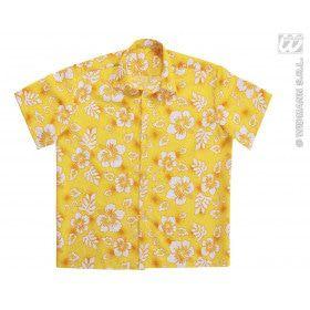 Hawaii Shirt Geel Man