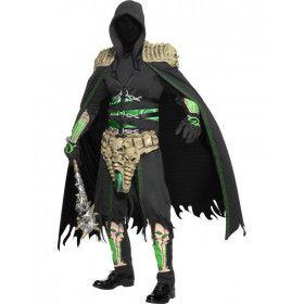 Mannen Magere Hein Halloween Man Kostuum