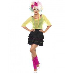 80s Madonna Vrouw Kostuum