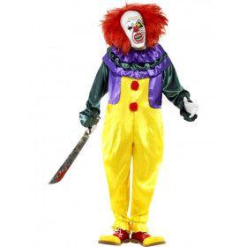 Griezelige Clown Man Kostuum