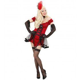 Cabaret Meisje Vrouw Kostuum