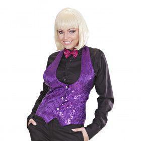 Las Vegas Show Pailletten Vest Vrouw
