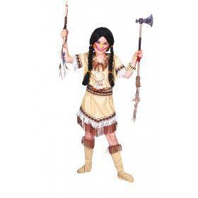 Sioux Sunrise Meisje Kostuum