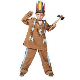 Anoki Strijder Indiaan Jongen Kostuum