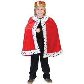 Koning Arthur Cape Kostuum