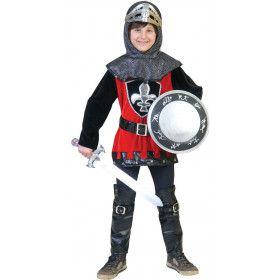 Kentgeenvrees Ridder Jongen Kostuum