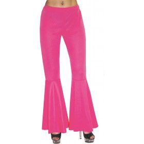 Hippie Broek Roze Neon