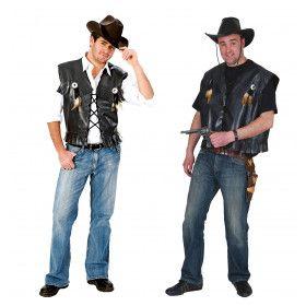 Pistolero Sheriff Man Kostuum