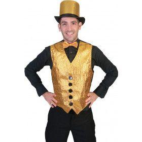 Show Vest Goud Man